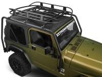 Barricade Jeep Wrangler Roof Rack Basket - Textured Black ...