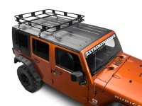 Surco Jeep Wrangler Safari Removable Hard Top Rack w ...