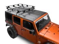 Surco Jeep Wrangler Safari Removable Hard Top Rack w ...