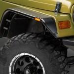 Barricade Jeep Wrangler Flat Style Fender Flares J102429 97 06 Jeep Wrangler Tj