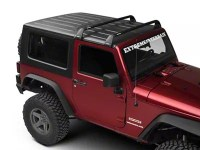 Rhino-Rack Jeep Wrangler Vortex SG 2 Bar Roof Rack - Black ...