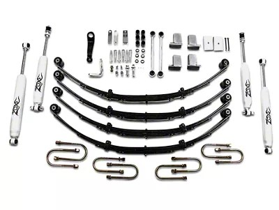 Zone Offroad Wrangler 4 in. Lift Kit w/ Hydro Shocks J28