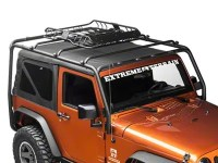 Barricade Jeep Wrangler X-Tray Roof Rack Basket J103946 ...