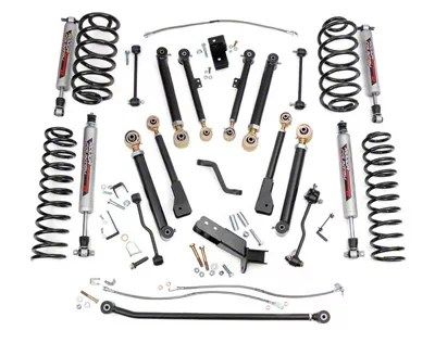 Rough Country Jeep Wrangler 4 in. X-Series Lift Kit w