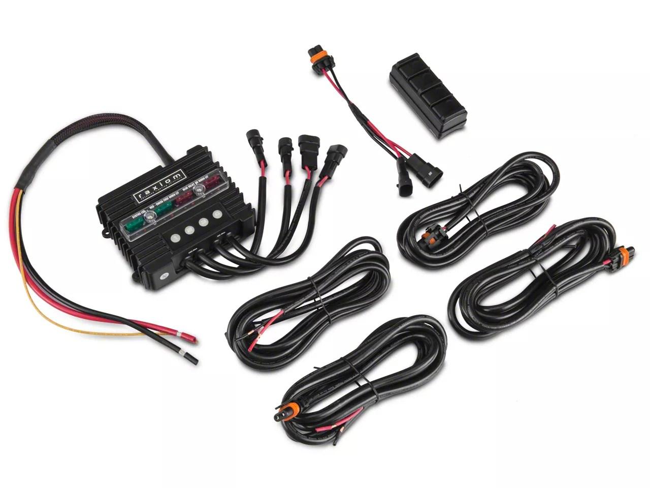 Raxiom Jeep Wrangler Bluetooth Light Switch & Accessory