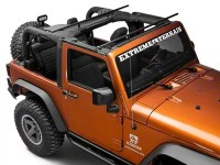 RedRock 4x4 Jeep Wrangler Roll Bar Mount Cargo Rack ...