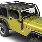 Smittybilt Jeep Wrangler Src Roof Rack Black Textured 76713 97 06 Jeep Wrangler Tj Excluding Unlimited