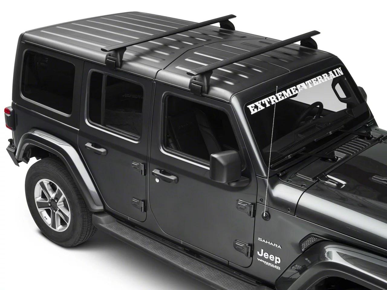 mopar removable roof rack 18 21 jeep wrangler jl