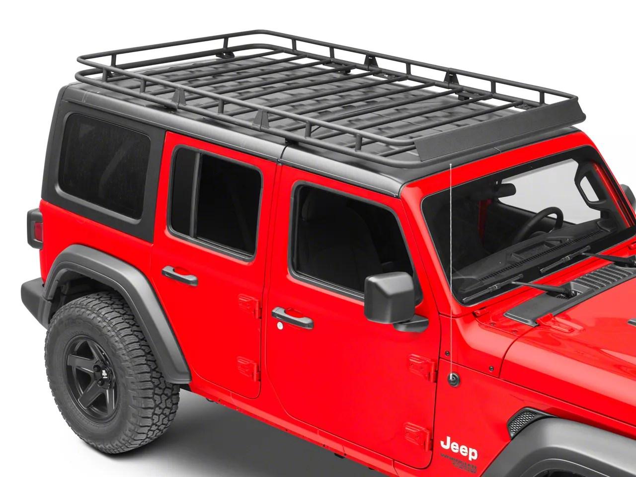 redrock 4x4 full length roof rack 18 21 jeep wrangler jl 4 door