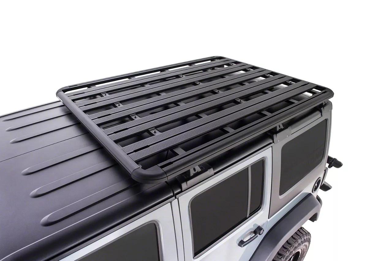 rhino rack pioneer platform 72 inch x 56 inch 07 18 jeep wrangler jk 4 door