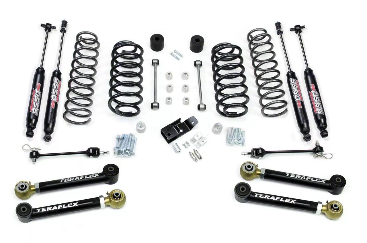 Teraflex Jeep Wrangler 4 in. Lift Kit w/ Shocks 1456432