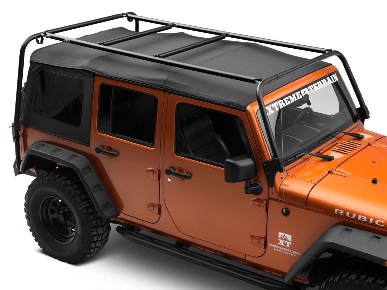 garvin adventure rack 07 18 jeep wrangler jk 4 door