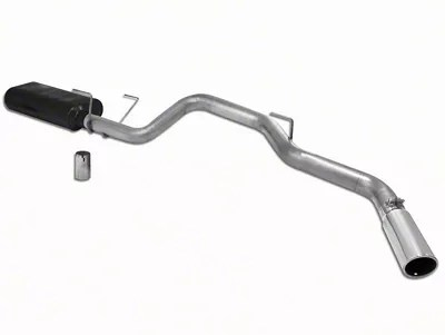flowmaster american thunder single exhaust system side exit 04 05 5 7l ram 1500