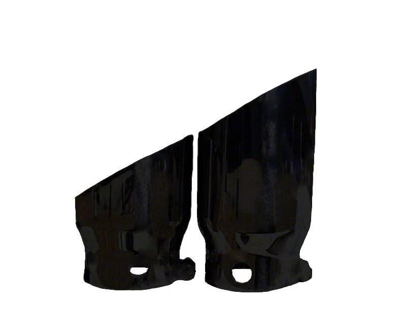 exhaust tips matte black 11 21 f 250 f 350 super duty