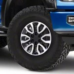 F 150 Gen2 Raptor Style Black Machined 6 Lug Wheel 17x8 5 34mm Offset 15 20 F 150
