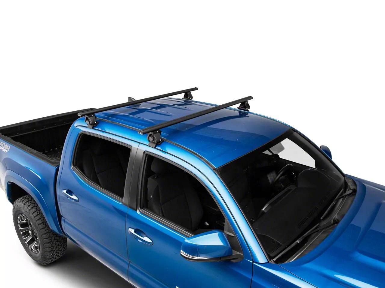 traveler cross bar roof rack black 60 inch 16 21 tacoma