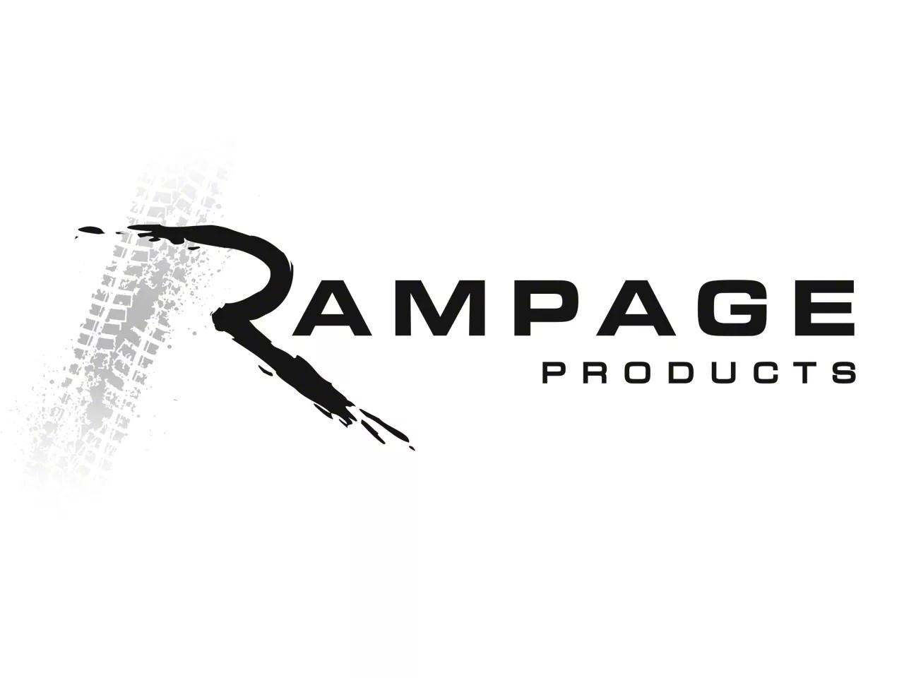Rampage Wrangler Frameless TrailView Soft Top 139935 (07