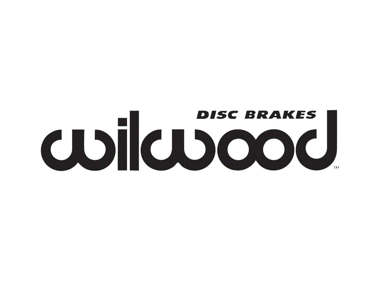 Wilwood Jeep Wrangler Red Superlite 4R Big Brake Kit w
