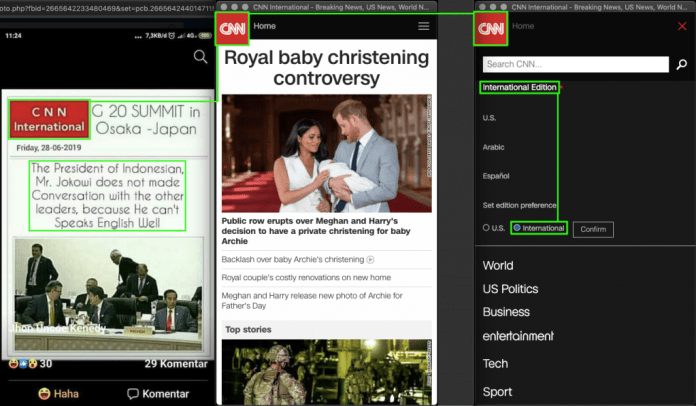 """[SALAH] """"CNN internasional bilang"""""""