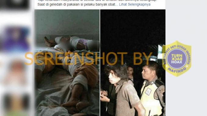 """[SALAH] """"Pelaku penculikan anak berhasil ditangkap dan diamankan di Polsek Tegalsari, Surabaya, Jawa Timur"""""""