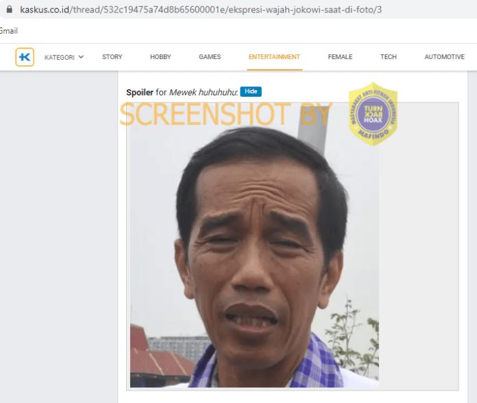 [SALAH] Bungkus Nasi dengan Foto Jokowi dan Bertuliskan Nasi Kodok
