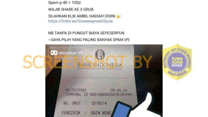 [SALAH] Baim Wong Adakan Giveaway Di Grup Facebook