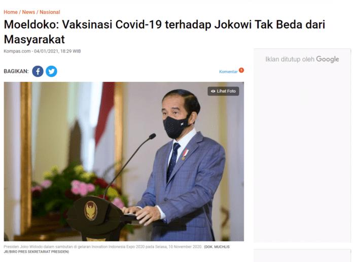 "[SALAH] ""Ternyata VAKSIN Yg Akan Di Suntikan Ke Jokowi Berbeda"""