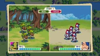 Wargroove turn-based combat