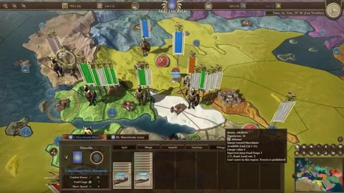 Field of Glory Empires Wordmap
