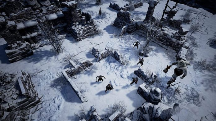 Forged of Blood Turn-based game