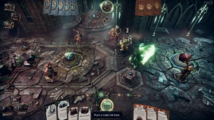 Warhammer Online Card Game