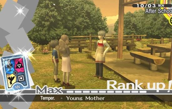 Persona 4 Golden social link example