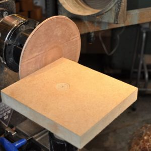 homemade disc sander
