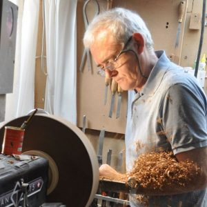 Woodturner Terry Vaughan