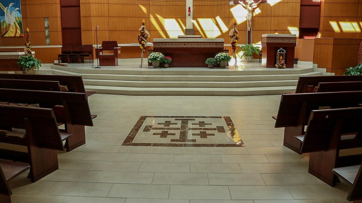 Church of the Holy Cross  Turner Ceramic Tile