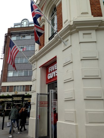 Five Guys in London