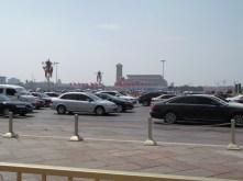 Opposite Tiananmen Square