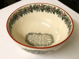 Victorian Transfer Printed Bowl