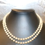 A Cultured Pearl Necklet