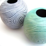 Colin Norgate Coloured Vases
