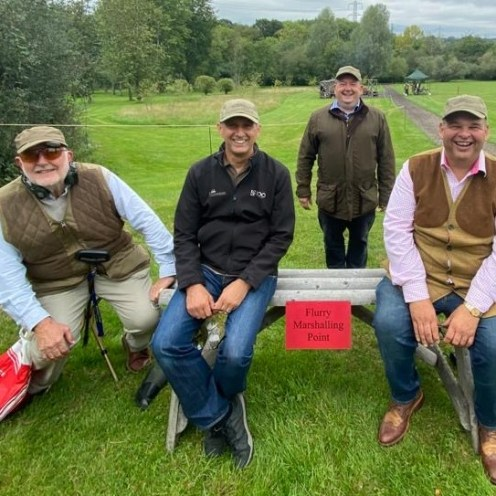 The Turners Clay Pigeon Team