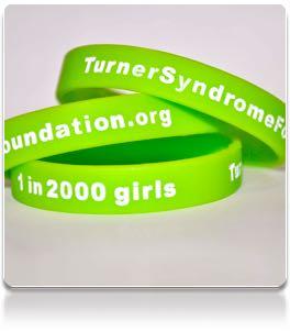 Turner syndrome foundation bracelets
