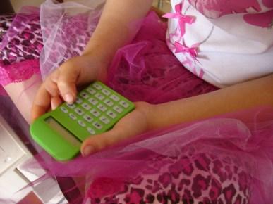 Math Girl Calculator