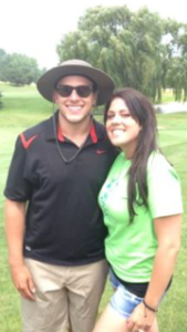 participants in golf tournament for turner syndrome