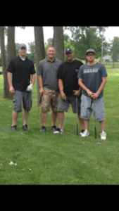 Players at the golf outing turner syndrome