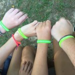 wristbands at camp