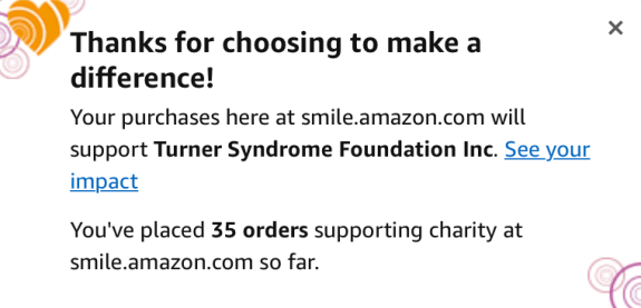 amazon smile makes a difference
