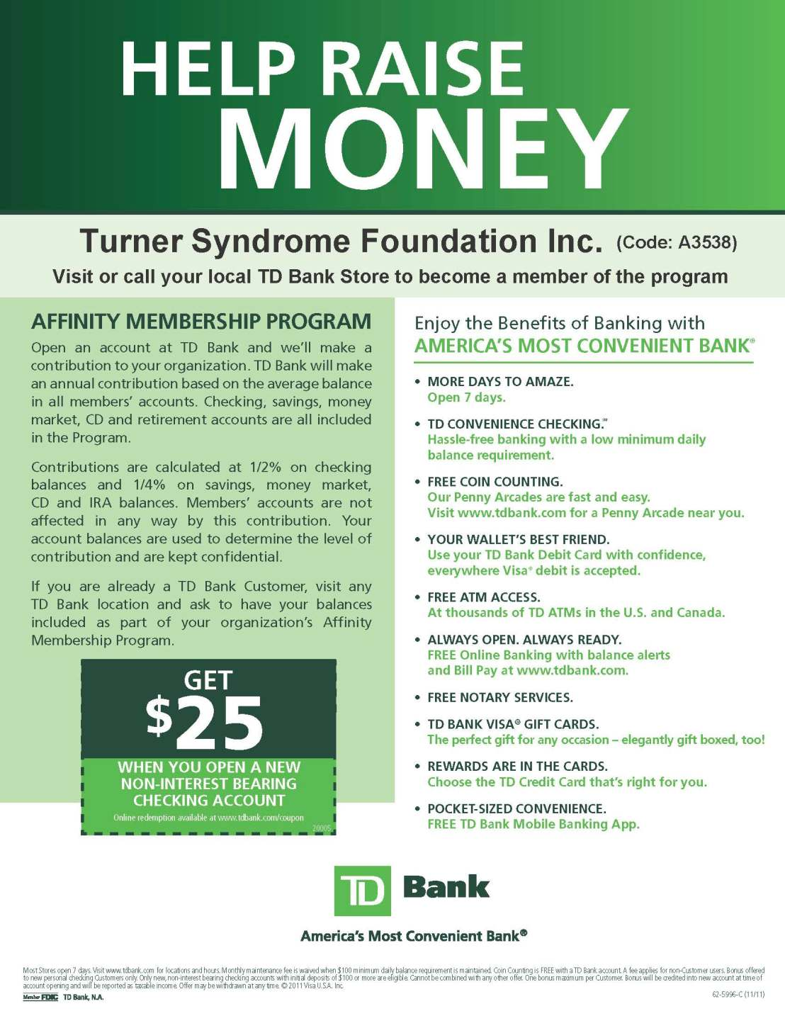 TD bank support