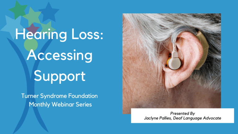 Hearing Loss: Accessing Support