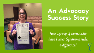 advocacy for Turner syndrome